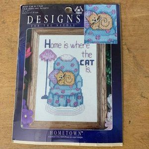 Vintage 1999 Designs For The Needle Cross Stitch